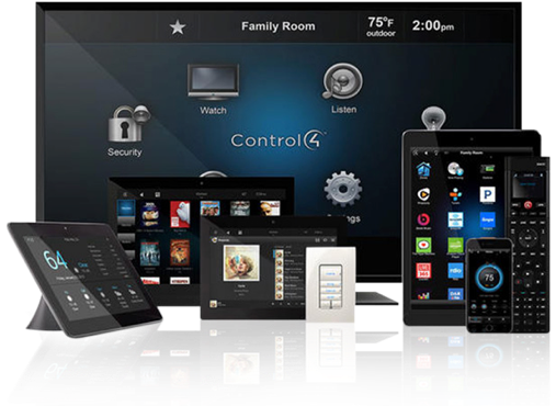 Tech image header image with Control4 controllers in situ